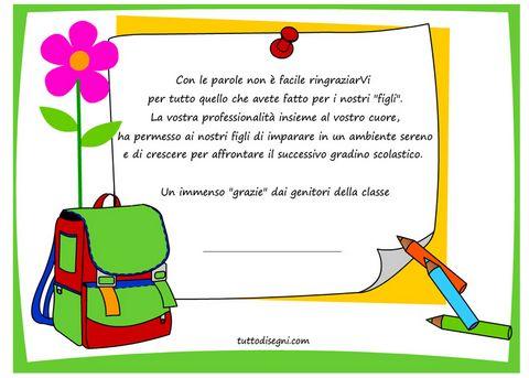 Frase Maestra Fine Anno Scuola Hotel Il Castelletto